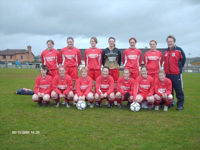 Clare women's senior team
