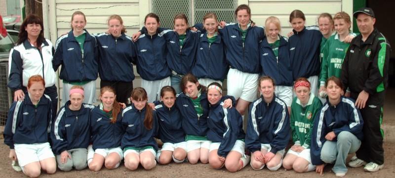 Mayo under 14 girls 2006